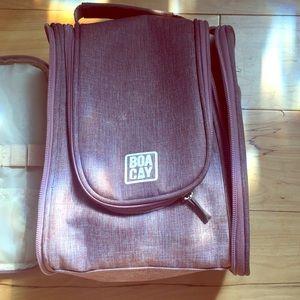 Boacay large travel bag blush color